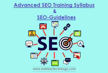 Advanced SEO Training Syllabus and SEO Techniques Guidelines